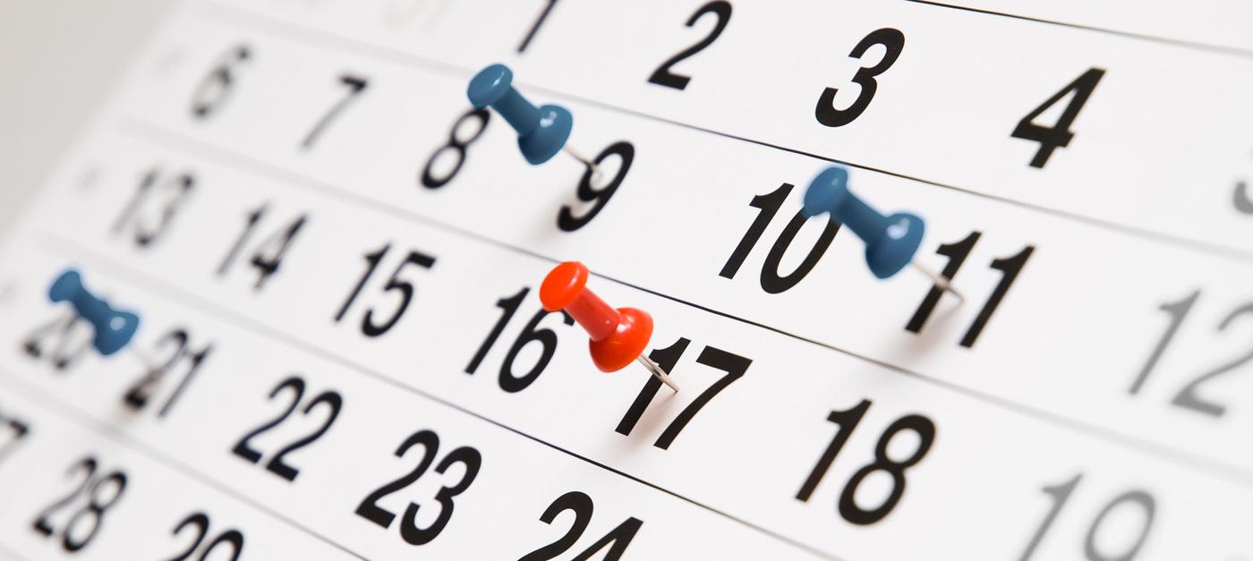 Terminplanung des Fördervereins 2021